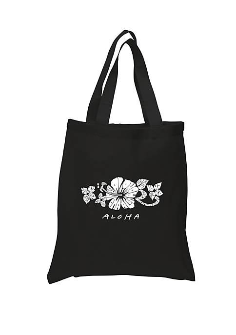 Small Word Art Tote Bag - ALOHA