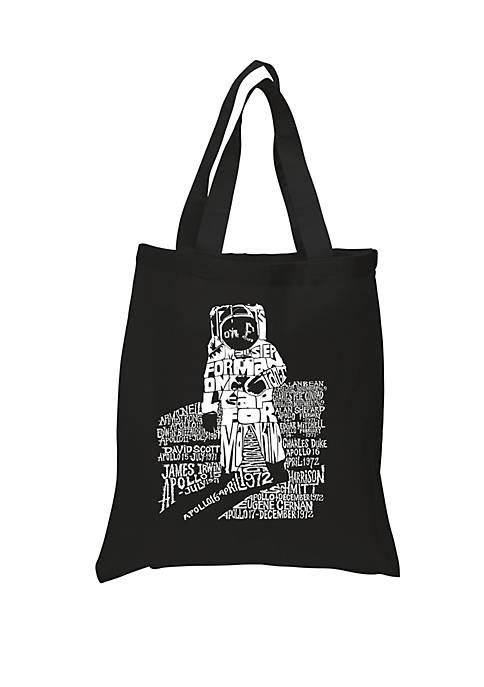 LA Pop Art Small Word Art Tote Bag-