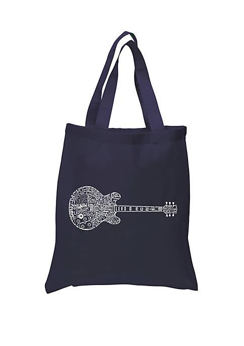 Small Word Art Tote Bag - Blues Legends
