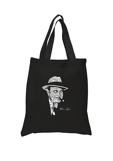 Small Word Art Tote Bag-Al Capone Original Gangster