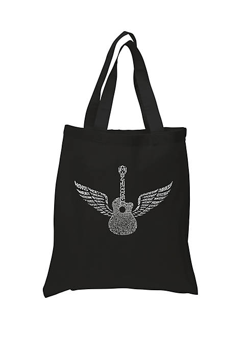 Small Word Art Tote Bag - Amazing Grace
