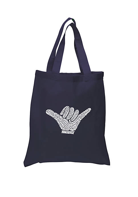 Small Word Art Tote Bag-Top Worldwide Surfing Spots