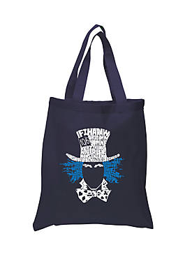 Small Word Art Tote-Bag The Mad Hatter