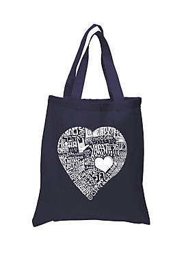 Small Word Art Tote Bag-Love in 44 Different Languages