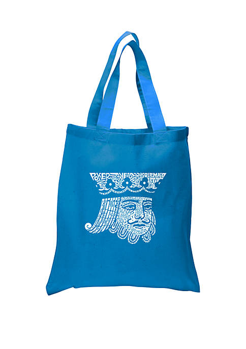 Small Word Art Tote Bag-King of Spades