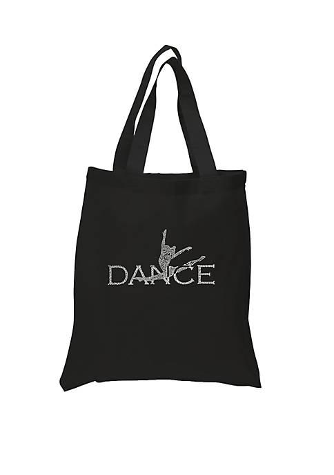 Small Word Art Tote Bag - Dancer
