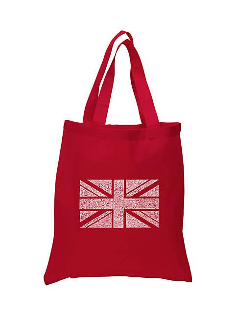 Small Word Art Tote Bag - Union Jack