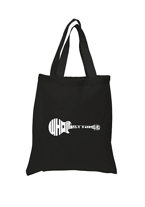 Small Word Art Tote Bag - Whole Lotta Love