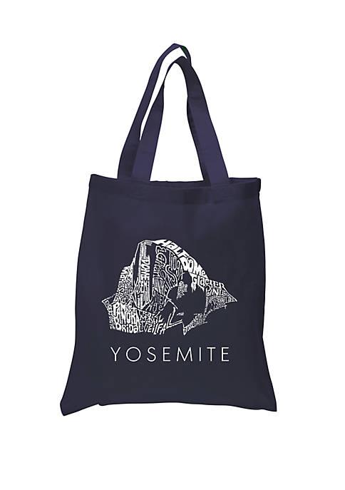 LA Pop Art Small Word Art Tote Bag