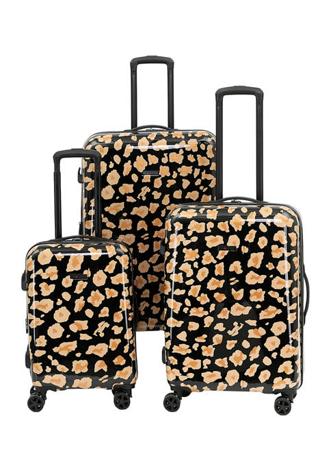Lyon Spinner Upright Leopard Luggage Collection