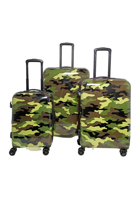 Strasbourg Spinner Upright Camo Luggage Collection