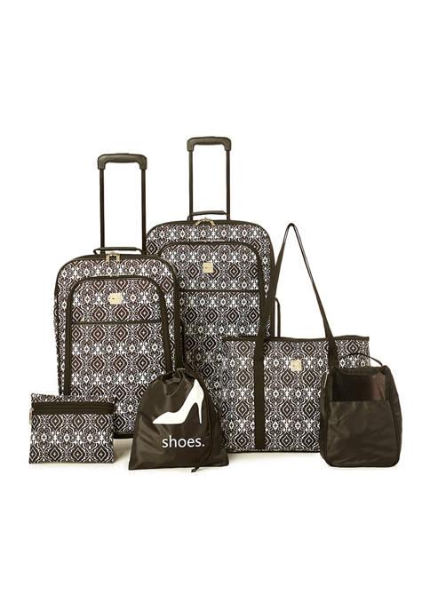 6-Piece Spinner Luggage Set