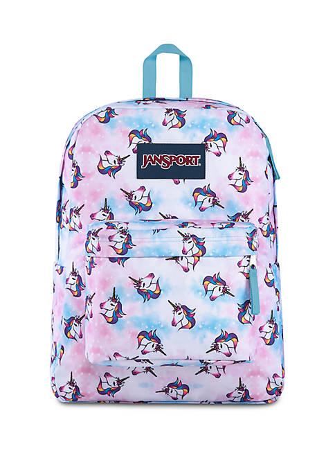 Jansport Super Break Unicorn Clouds Backpack