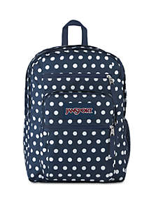 Jansport Big Student Denim Dots Backpack