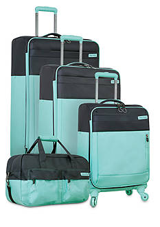 Nautica Harpswell Luggage Collection - Aqua