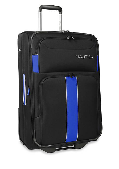 Nautica Seaford Medium Suitcase -Black/Blue