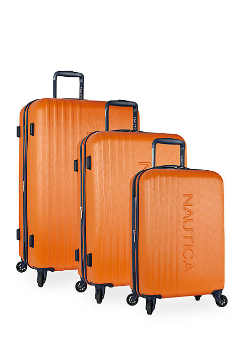 Nautica Lifeboat 3-Piece Hardside Expandable Luggage Set