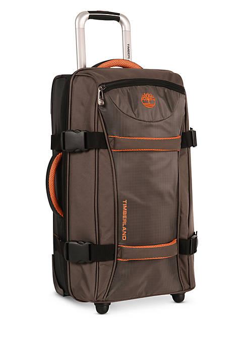 Twin Mountain Wheeled Duffle Luggage Collection - Cocoa