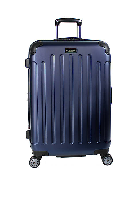 Logan Square 25 in Lightweight PAP (Polycarbonate & ABS Blend) Hardside Expandable 8 Wheel Upright Checked Luggage