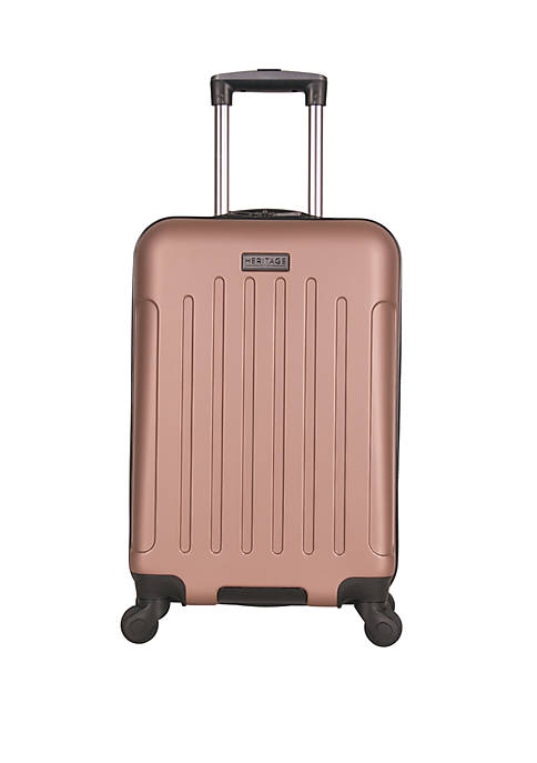 Lincoln Park 20 in Lightweight ABS 4 Wheel Upright Carry On Luggage