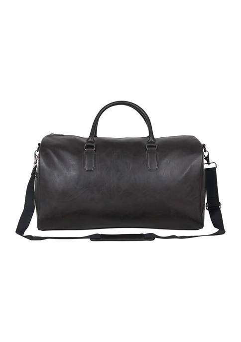 Kenneth Cole Reaction Vegan Leather Duffel Bag