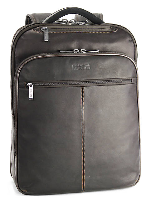 Colombian Leather Computer Backpack - Online Only