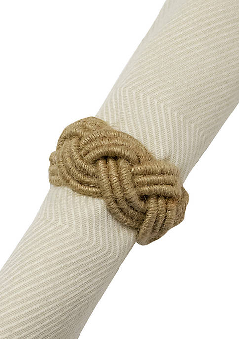 Excell Braided Rope Napkin Ring