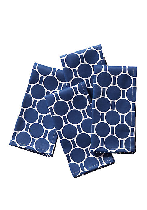 C. Wonder Boardwalk Dot Napkins, Set of 4