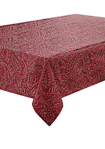 Esmerelda Crimson Tablecloth