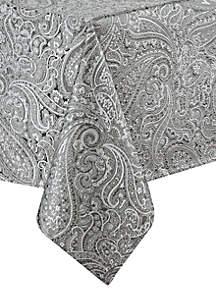 Esmerelda Platinum Table Linen Collection