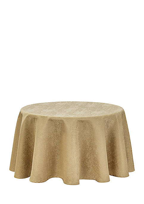 Moonscape Round Tablecloth