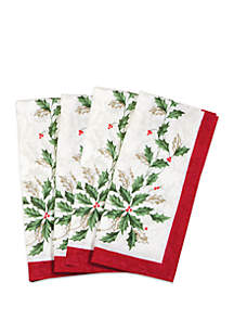 Holiday Napkins - Set of 4