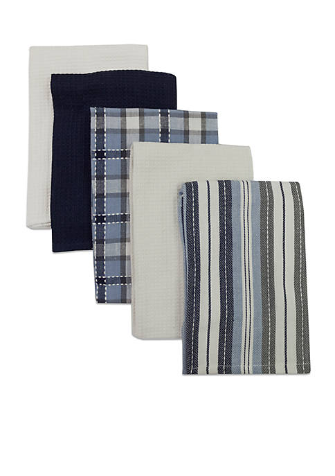 Bardwil 5-Piece Kitchen Towel Set