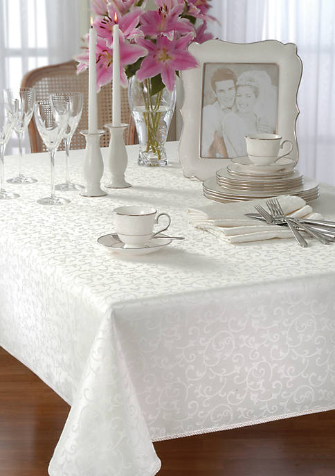 "Lenox® 60x84"" Oblong Tablecloth"