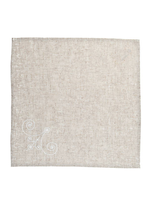 Lenox® French Perle Linen Napkin 19-in. x 19-in.
