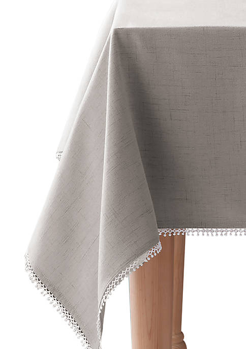 Lenox® French Perle Dove Gray Tablecloth 52-in. x
