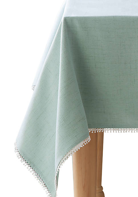 Lenox® French Perle Ice Blue Oblong Tablecloth 52-in.