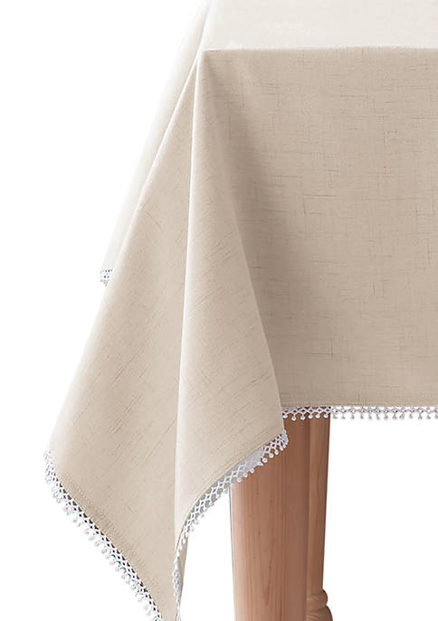French Perle Tablecloth 60-in. x 84-in.