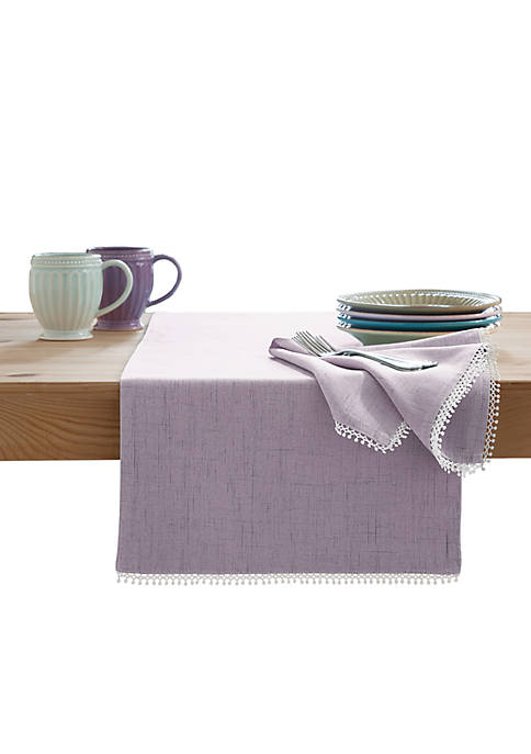 Lenox® French Perle Violet Table Runner 90-in.
