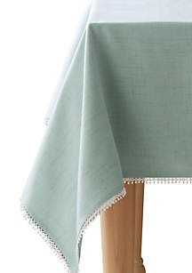 French Perle Ice Blue Table Linens