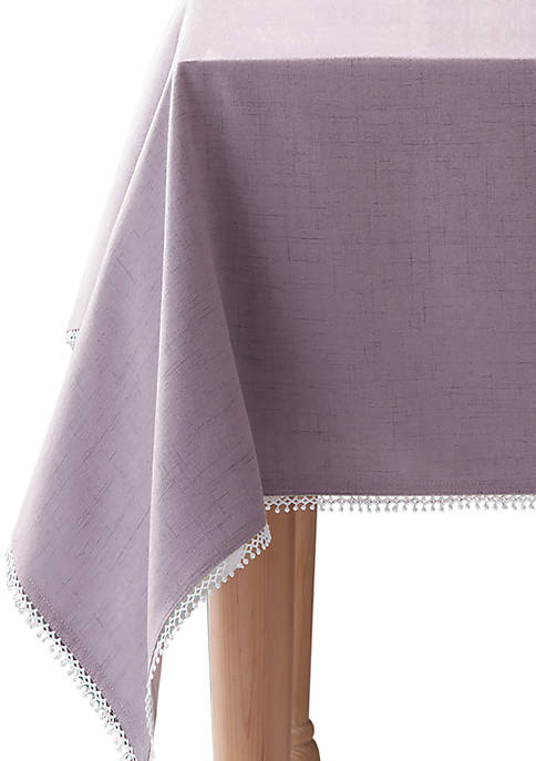 Lenox® French Perle Violet Tablecloth 60-in. x 102-in.