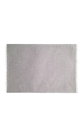 French Perle Dove Gray Placemat 13-in. x 19-in.