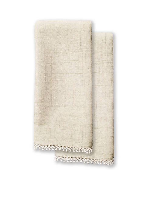 Lenox® French Perle Natural 2pk Napkin 19-in.x 19-in.