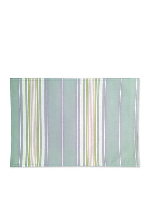 Lenox® French Perle Stripe Placemat 13-in. x 19-in.