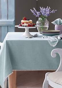 Lenox® French Perle Ice Blue Table Linens