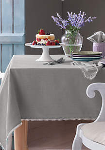 Lenox® French Perle Dove Gray Table Linens