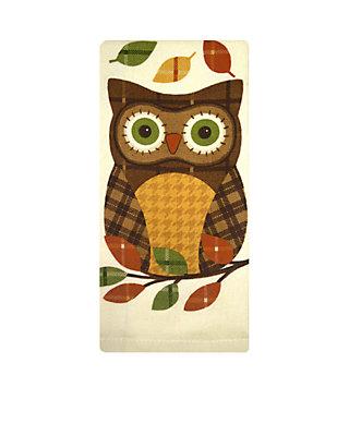 John Ritzenthaler Company Plaid Owl Kitchen Towel Belk