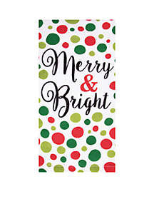 Print Dual Kitchen Towel - Very Merry & Bright