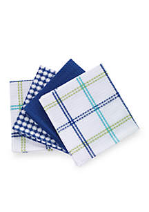 4 Pack Waffle Weave Dish Cloths