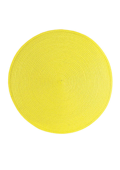Round Woven Placemat Collection